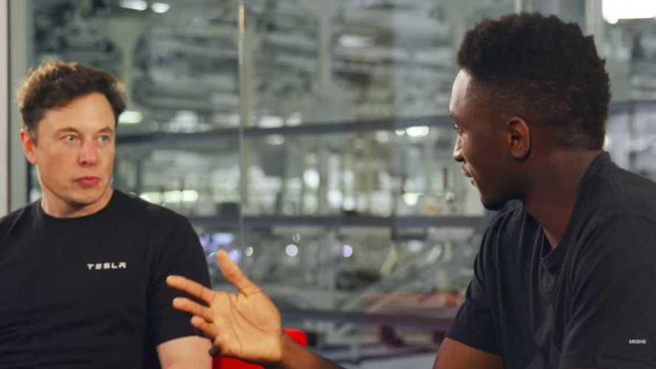 Илон Маск: за три года мы можем сделать электрокар Tesla ценой 25 тысяч долларов