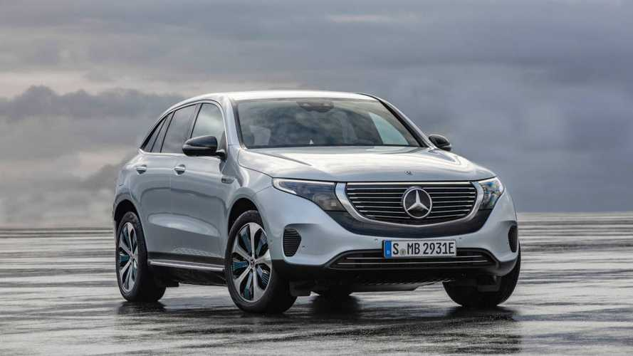 Mercedes ускорил зарядку кроссовера EQC