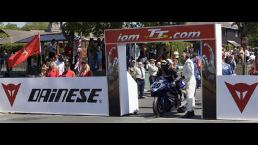 Dainese Official Safety Partner al TT 2009