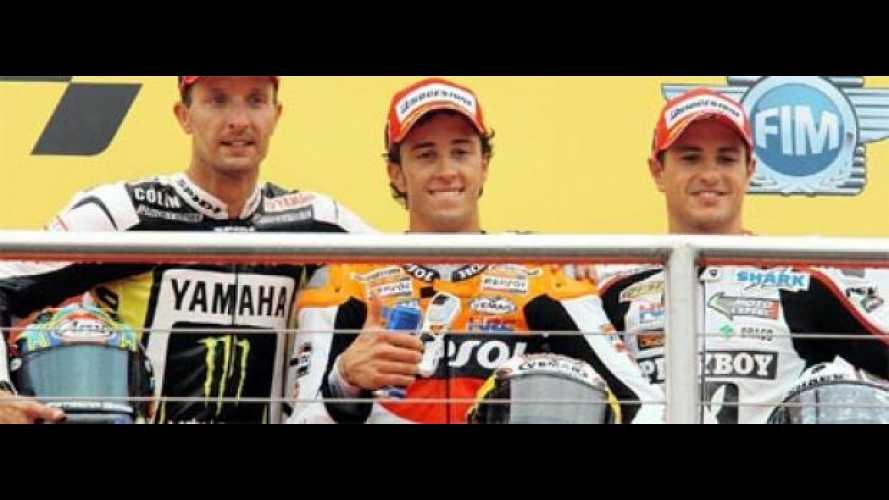 MotoGp 2009, Donington: chi li ha visti?