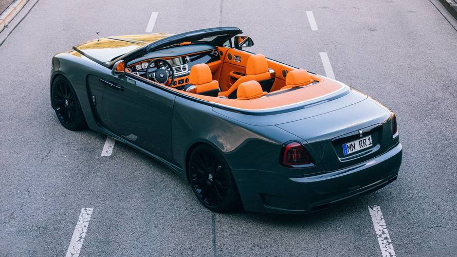 El Rolls-Royce Dawn gana músculo con Spofec