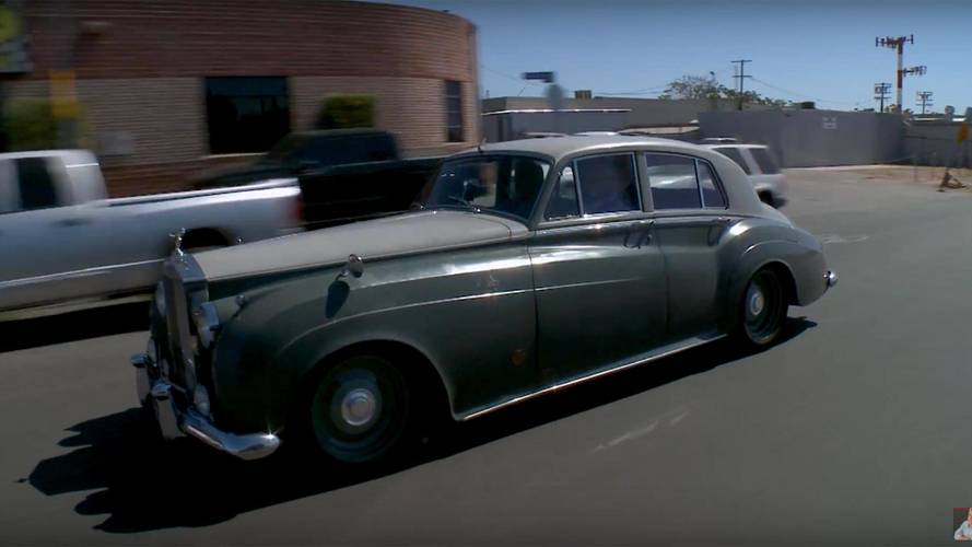 1958 Rolls-Royce Silver Cloud With LS7 V8 Visits Leno's Garage