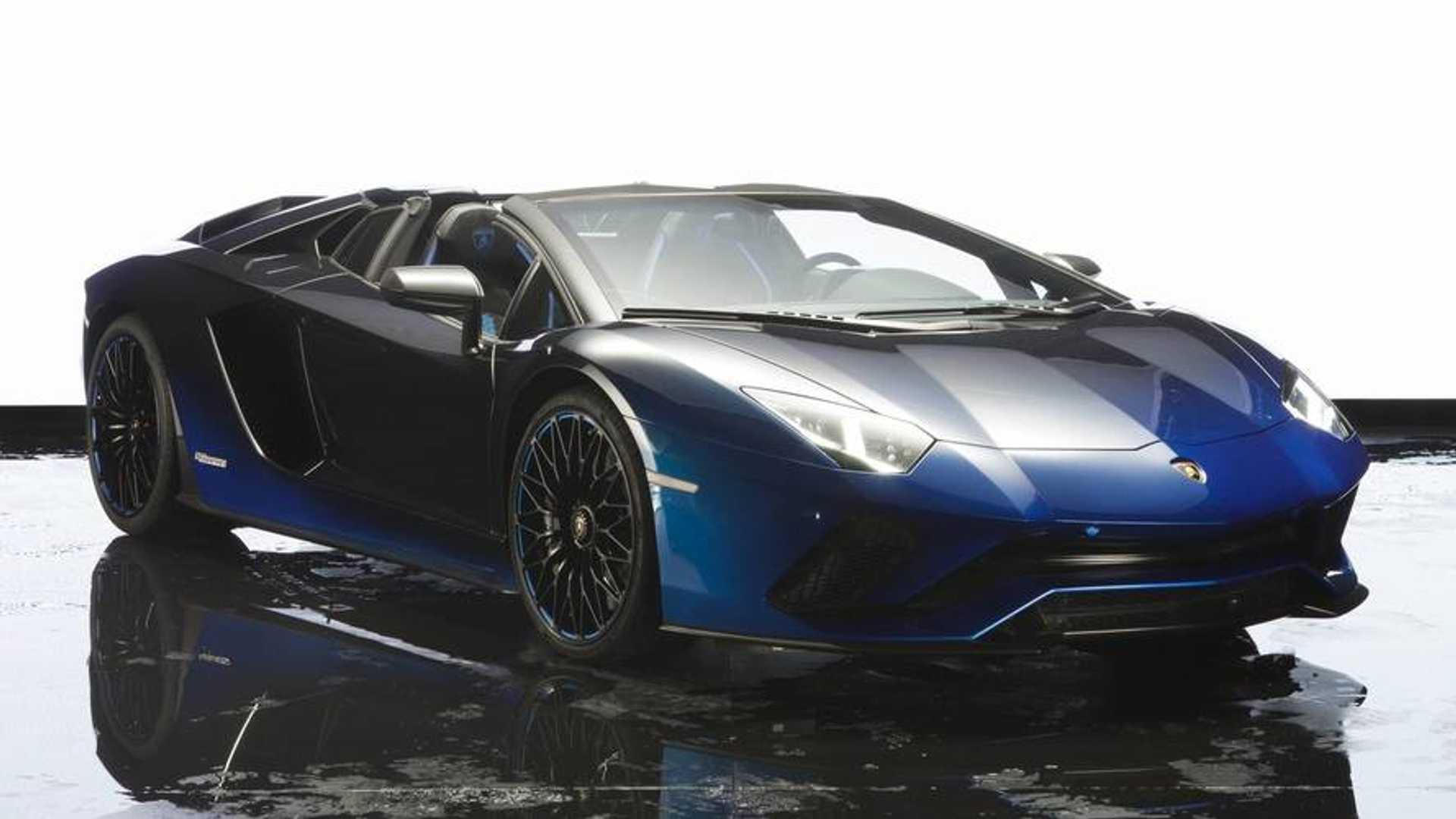 Lamborghini Aventador S Roadster 50th Anniversary Japan Unveiled