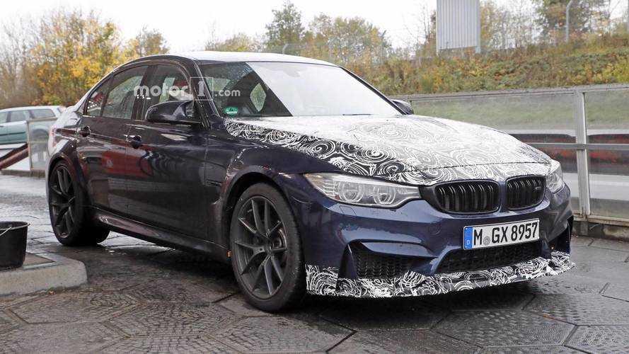 La BMW M3 CS se fait surprendre !