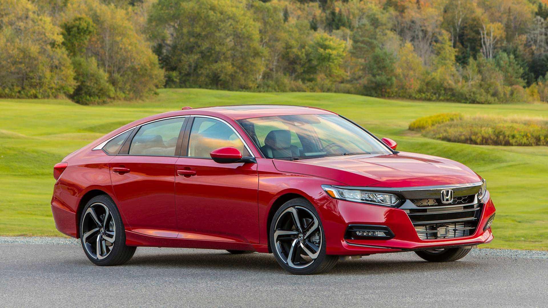 2018 Honda Accord >> 2018 Honda Accord Kuzey Amerika Da Yilin Otomobili Secildi