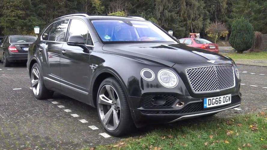 2018 Bentley Bentayga Plug-In Hybrid spotted testing