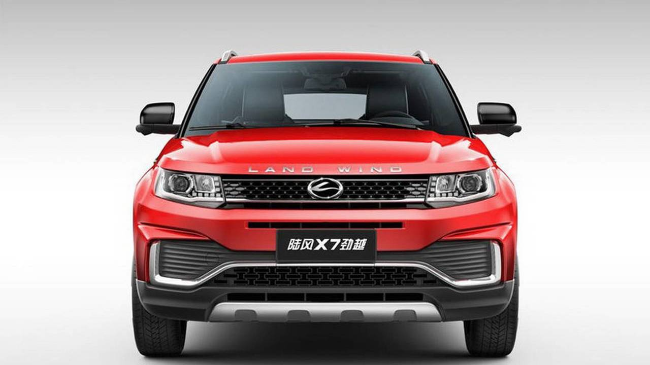 2018 Landwind X7 facelift