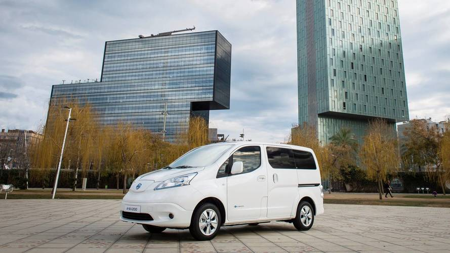 Nissan e-NV200 eléctrica: estrena batería con más autonomía