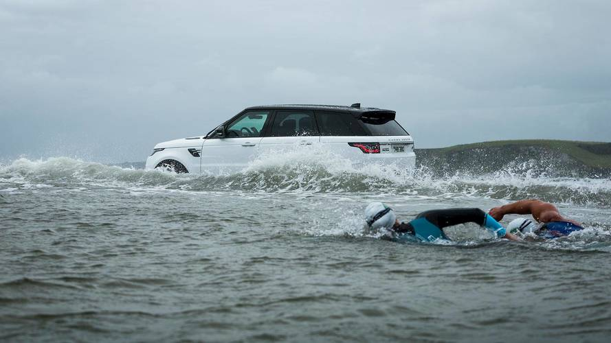 Le Range Rover Sport hybride, un nageur accompli ?