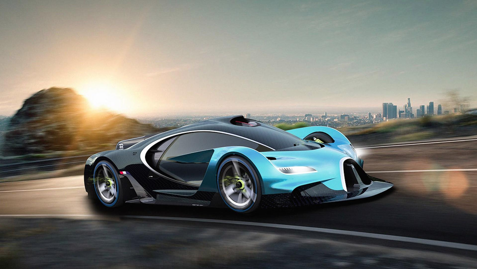 newest bugatti concept - HD 1918×1080