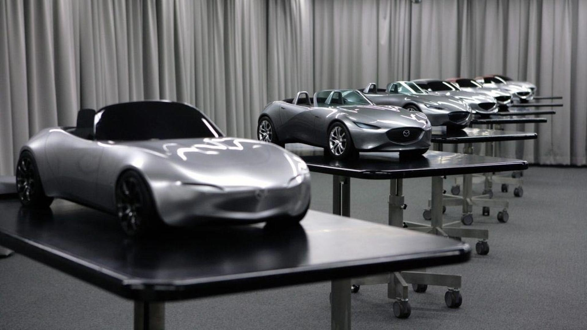 See The Nd Mazda Mx 5 Go From Sketch To