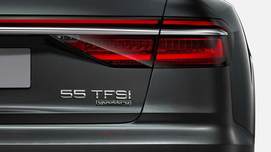 Voici la nouvelle numérotation à l'arrière des Audi !