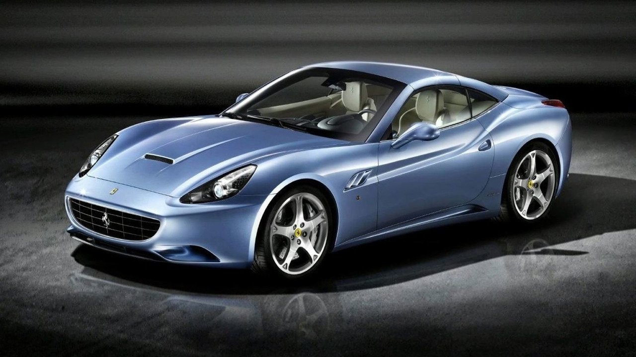 Ferrari California In Azzurro California Blue 59986