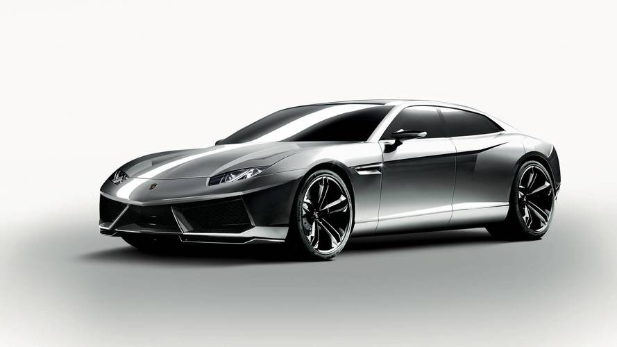 Lamborghini four-door saloon due 2021?