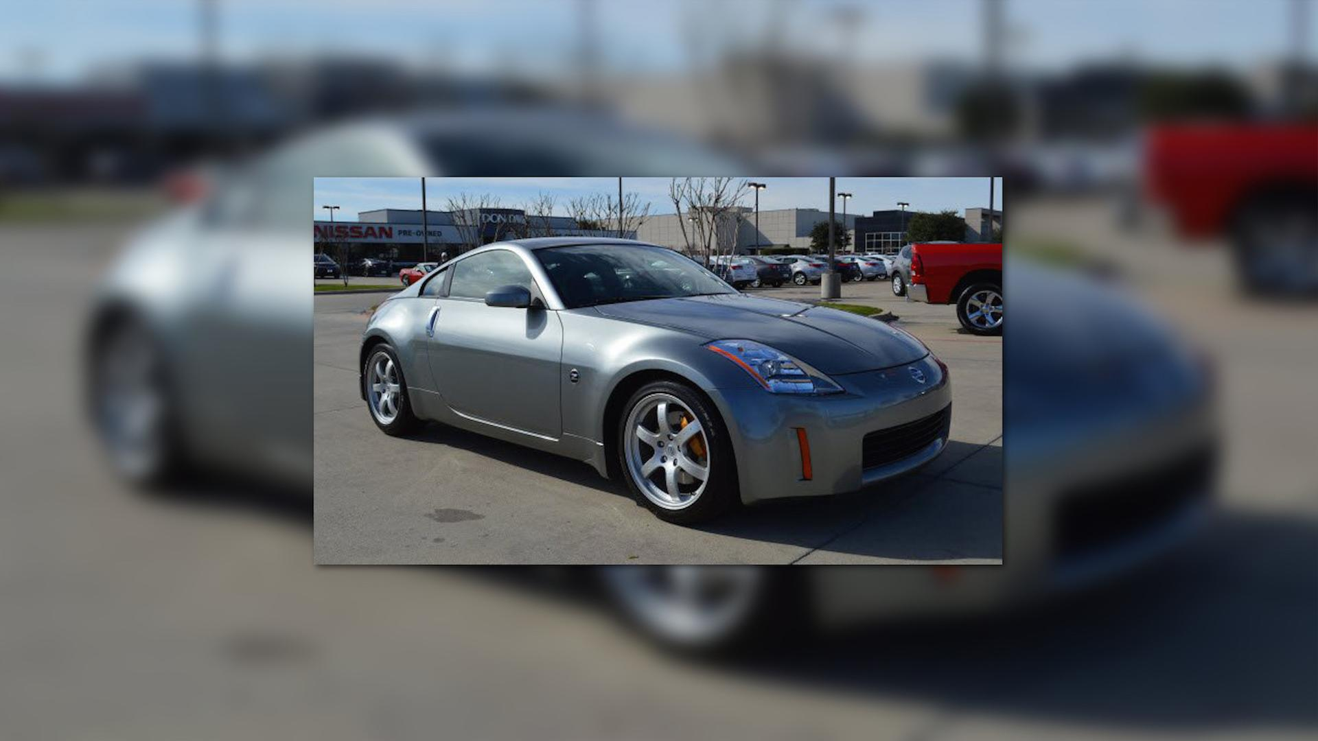 You Can Own The First Production Nissan 350z Ever Built