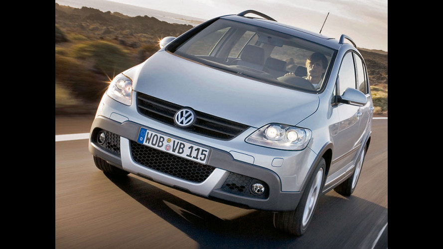 anteprima Volkswagen Cross Golf