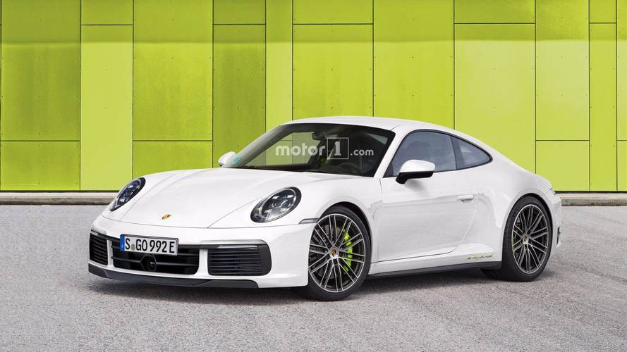 Is this what the hybrid 2018 Porsche 911 will look like?