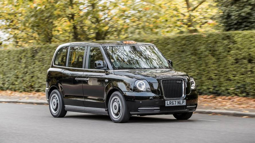 New electric London taxis head to Scotland