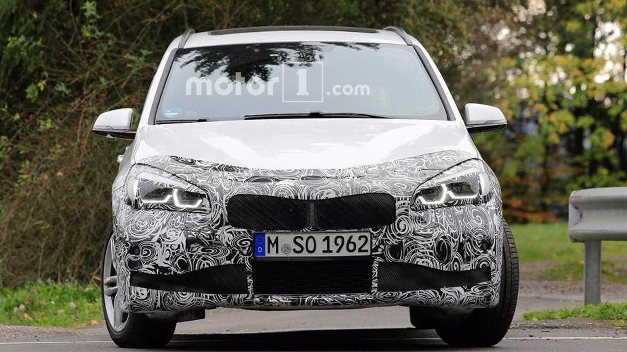 BMW 2 Series Gran Tourer Refresh Spy Photos