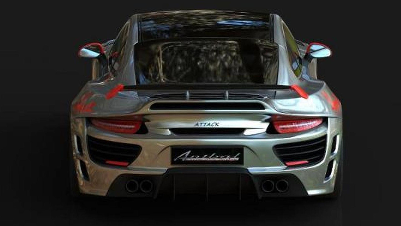 Porsche 911 Attack by Anibal Automotive Design, 960, 05.11.2012
