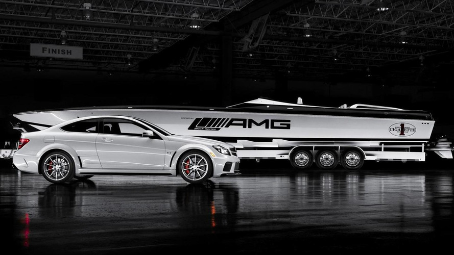 AMG announce C63 inspired 2700hp Black Series Cigarette boat