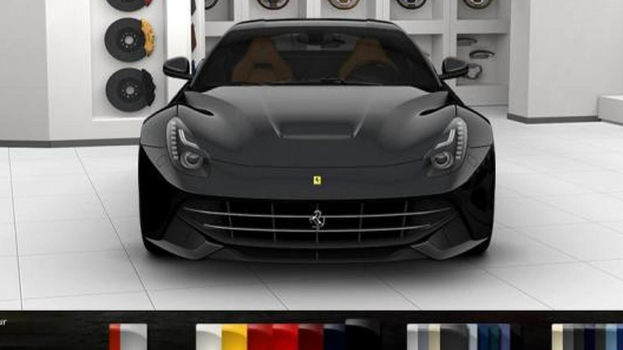 Ferrari F12 Berlinetta Configurator And Videos