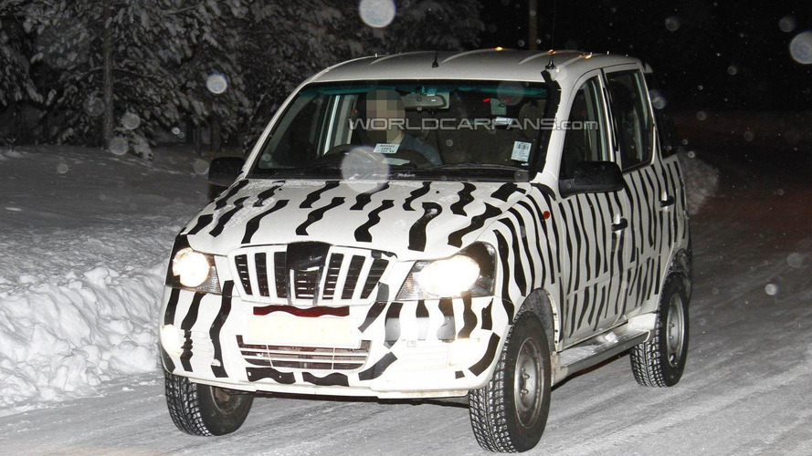 Mahindra Mini Xylo spied cold weather testing