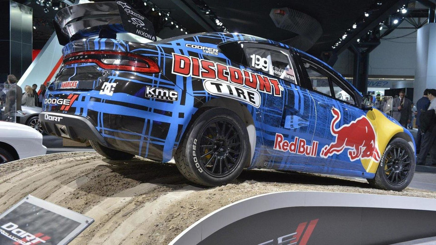 2013 Dodge Dart Rally Car with Travis Pastrana [video]