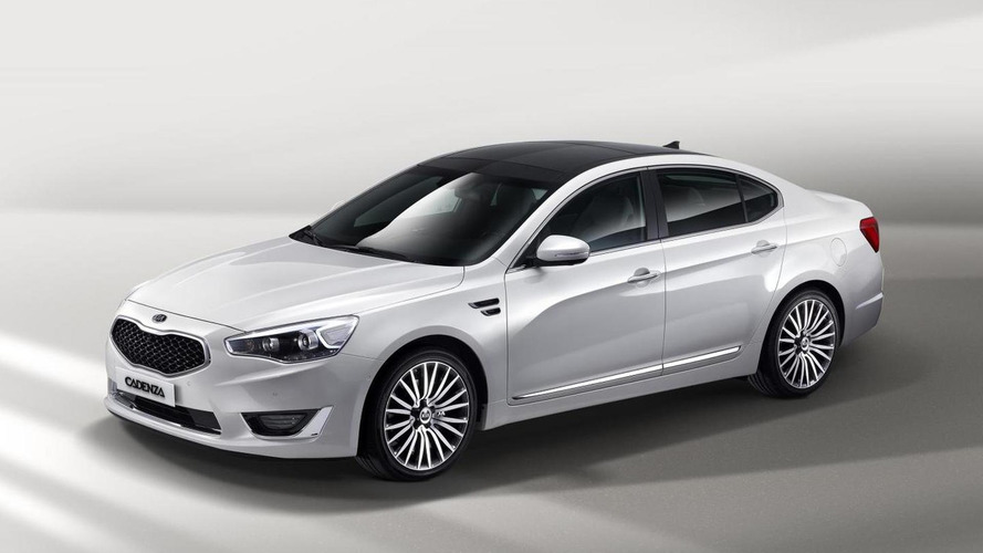 2013 Kia Cadenza (K7) facelift revealed