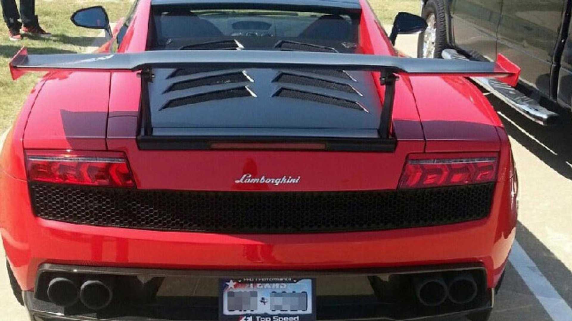 15 Year Old Girl Goes To School In A Lamborghini Gallardo Lp570 4