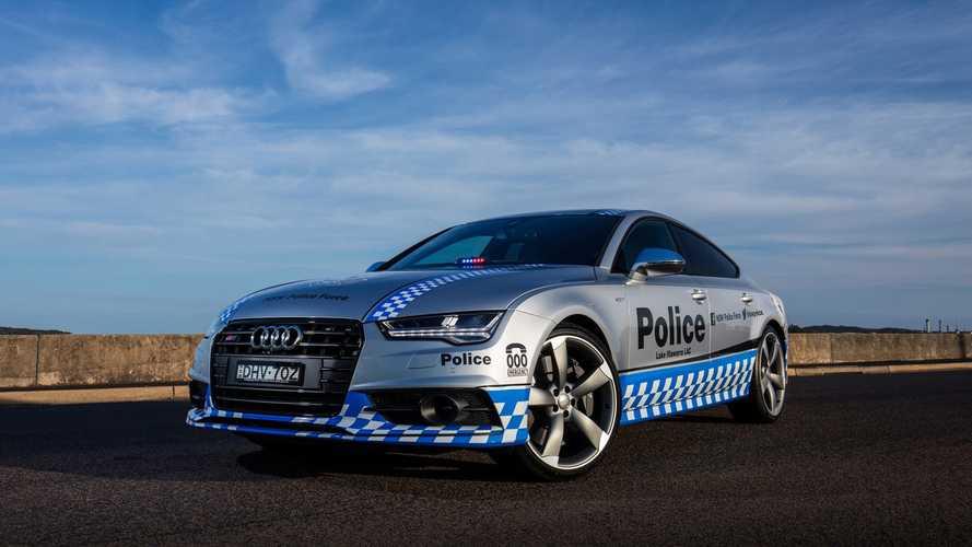 La police australienne prend possession de son Audi S7 Sportback