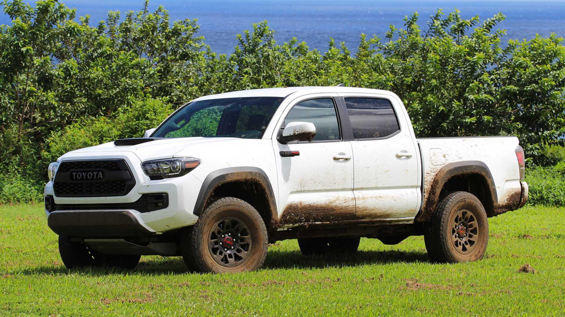 2017 Toyota Tacoma Trd Pro First Drive No Pavement Problem Pickup Starting Problems