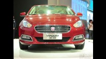 Substituto do Linea? Flagra mostra interior do Fiat Viaggio na China
