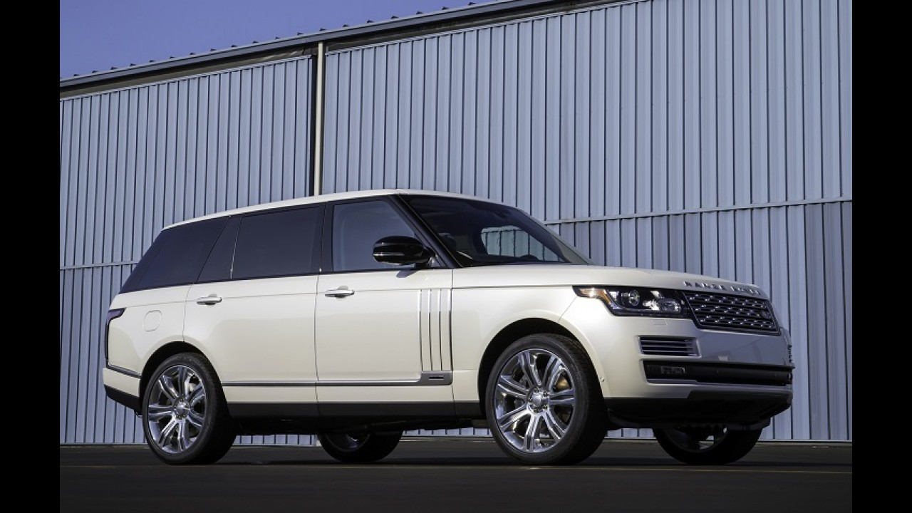 À chinesa: Range Rover mostra Vogue alongado no Salão de Los Angeles