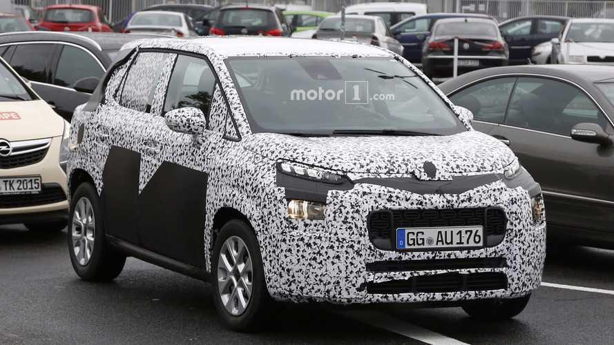 La prochaine Citroën C3 Picasso est presque prête !