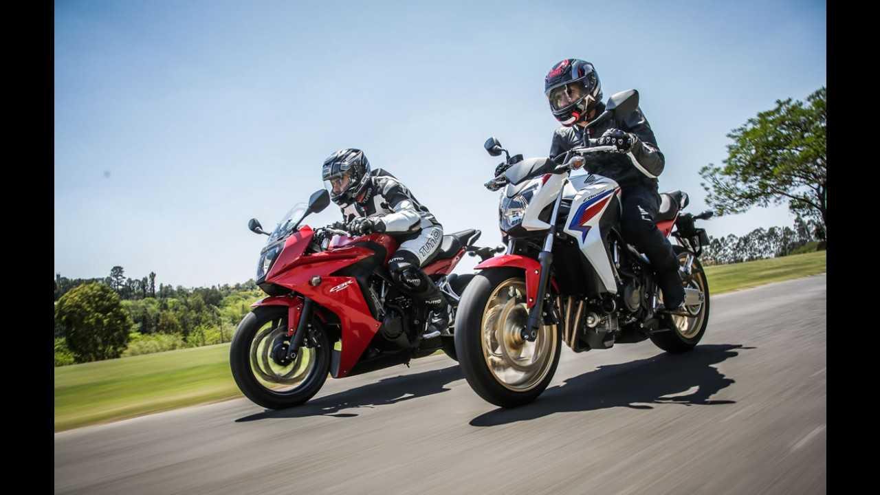Honda anuncia seguro para as novas CB e CBR 650F a partir de R$ 2,5 mil