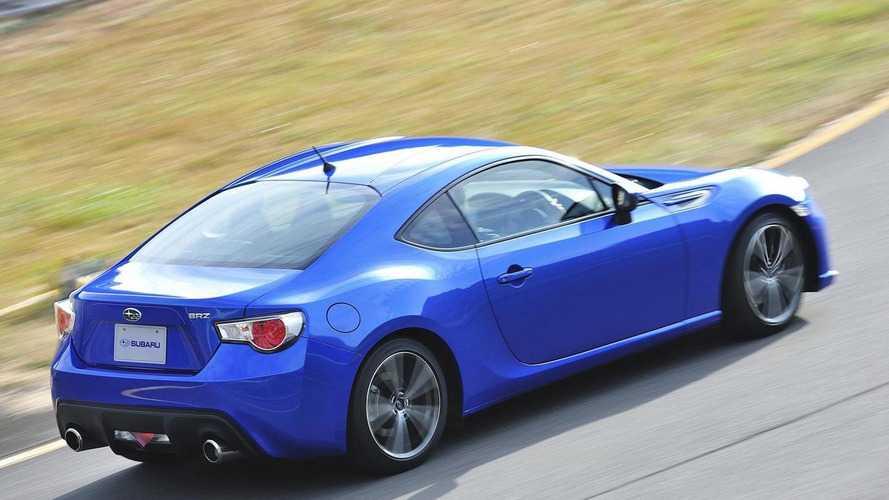 2013 Subaru BRZ pricing announced (US)