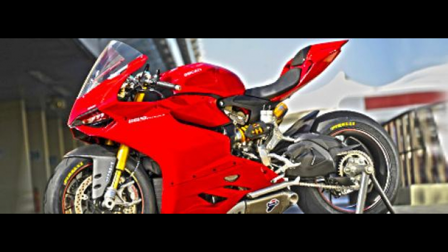Ducati 1199 Panigale: gli accessori originali Performance