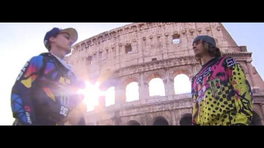 Red Bull X-Fighters 2010 Roma: pre-event video