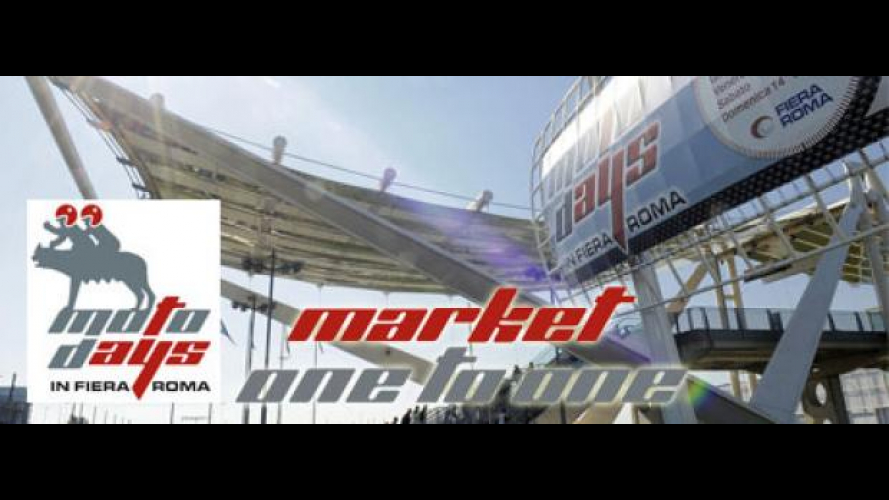 "Motodays 2011: le moto usate a ""Market one to One"""