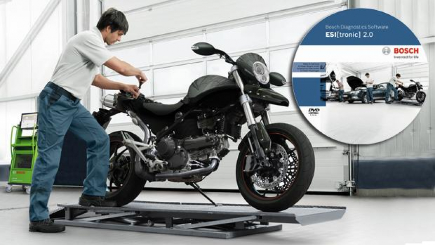 Bosch: nuova diagnosi moto multimarca ESI[tronic] 2.0 Bike