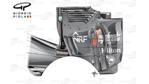 McLaren MP4-31 rear wing endplate, Austrian GP