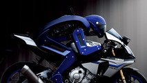 2015 Yamaha R1 with MOTOBOT