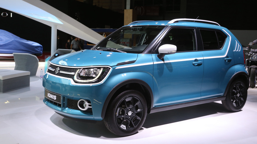 Paris'teki küçük, şirin crossover: Suzuki Ignis