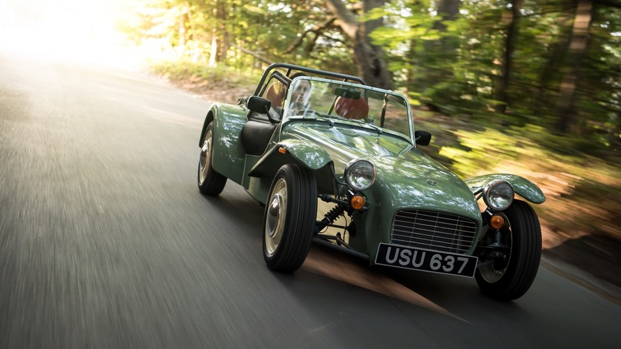 Retro Caterham Seven Sprint coincidentally sells out in seven days
