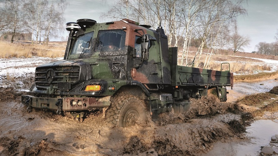 There's Nothing More Hardcore Than Military Grade Unimog, Zetros