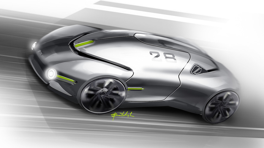 THX sports car concept previews a next-generation EV