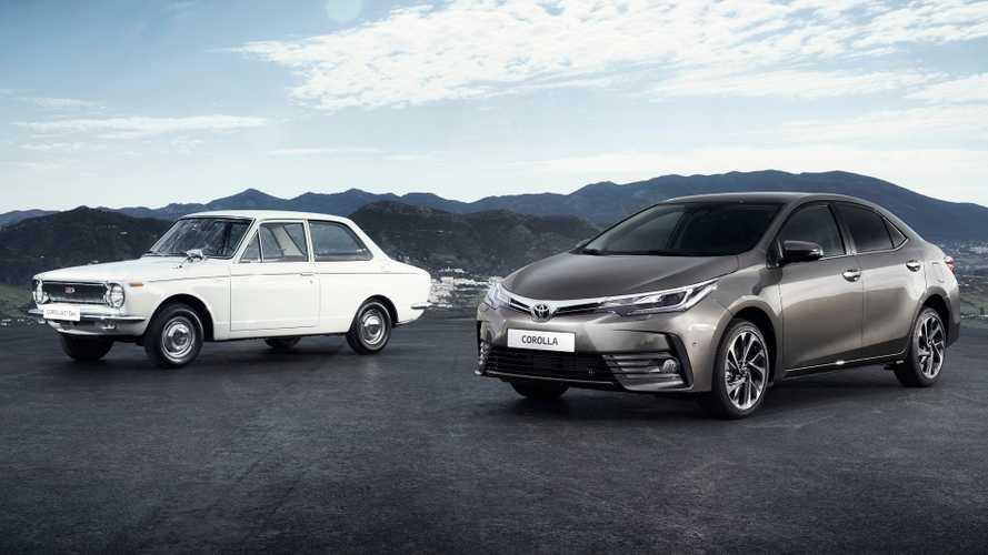 Toyota Corolla, 50 yılın sonunda dünyanın en çok satan otomobili