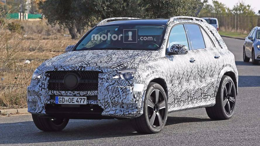 Mercedes-Benz GLE et GLS Photos espion