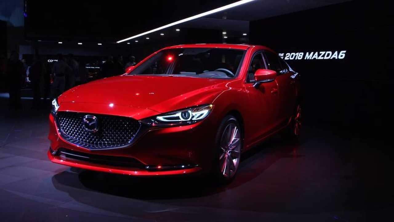 2018 Mazda6 Gets 250 Hp Turbo Treatment New Interior For